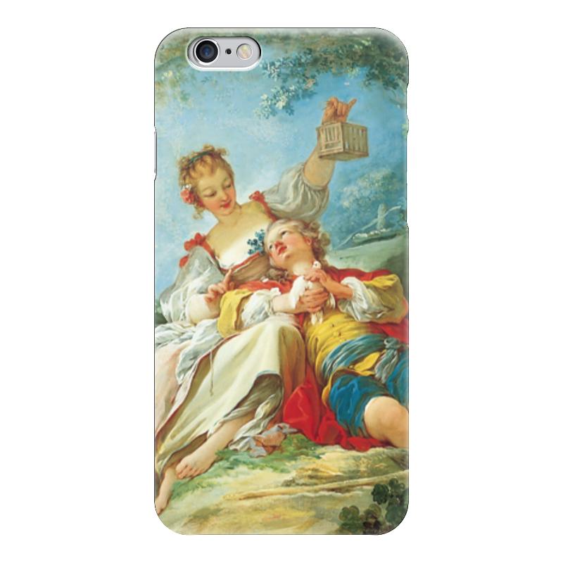 Чехол для iPhone 6 глянцевый Printio Счастливые любовники сыновья и любовники