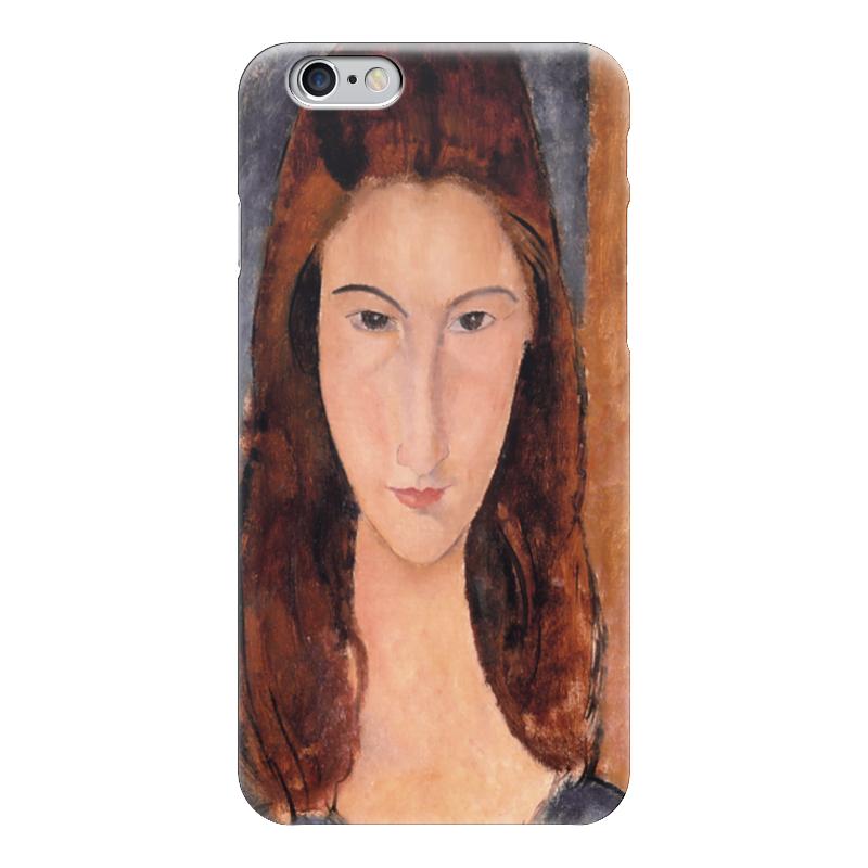 Чехол для iPhone 6 глянцевый Printio Портрет жанны эбютерн