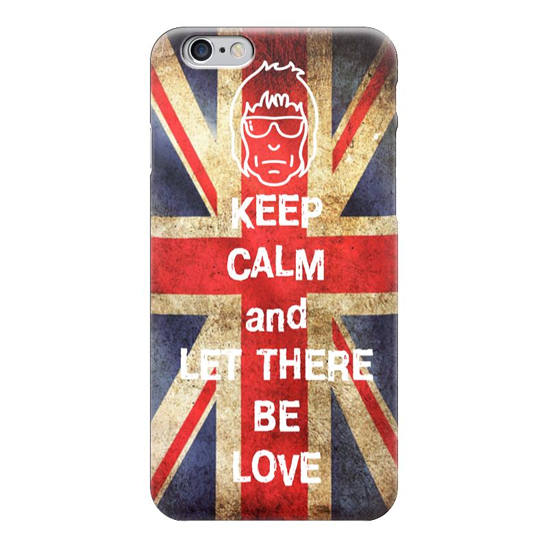 Чехол для iPhone 6 глянцевый Printio Keep calm and let there be love sahar cases чехол keep calm and love me iphone 5 5s 5c