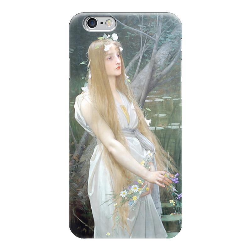 Чехол для iPhone 6 глянцевый Printio Офелия (ophelia) платья красавушка платье офелия