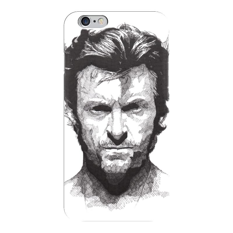 все цены на Чехол для iPhone 6 глянцевый Printio Росомаха онлайн