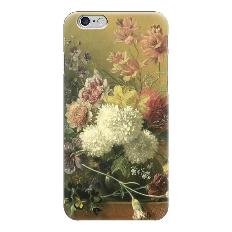 Чехол для iPhone 6 глянцевый Printio натюрморт с цветами (георгины) набор эмал 124 4ап2 георгины 1238560