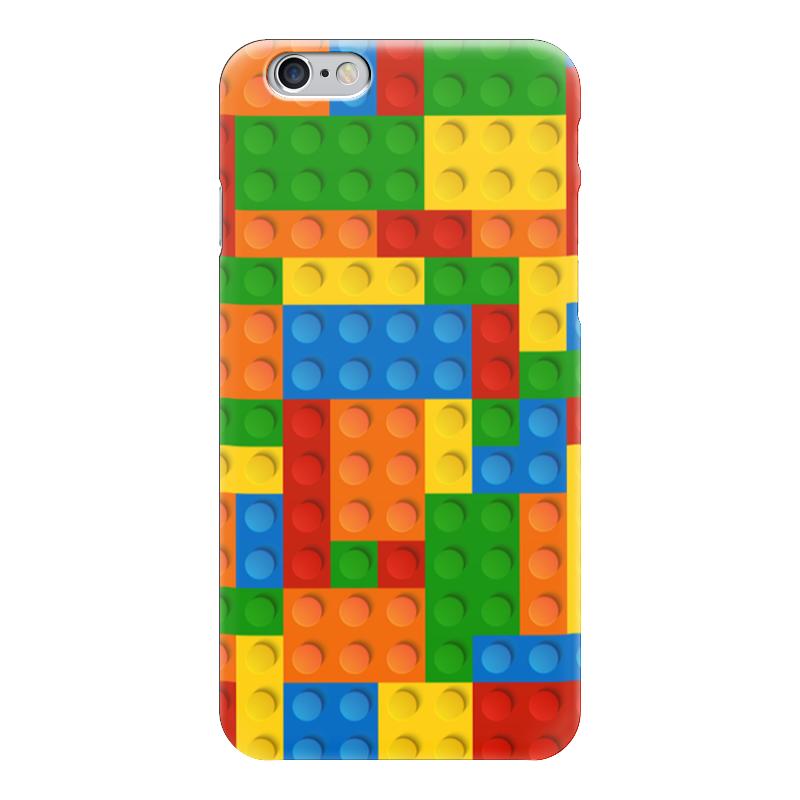 Чехол для iPhone 6 глянцевый Printio Конструктор лего детское лего gudi