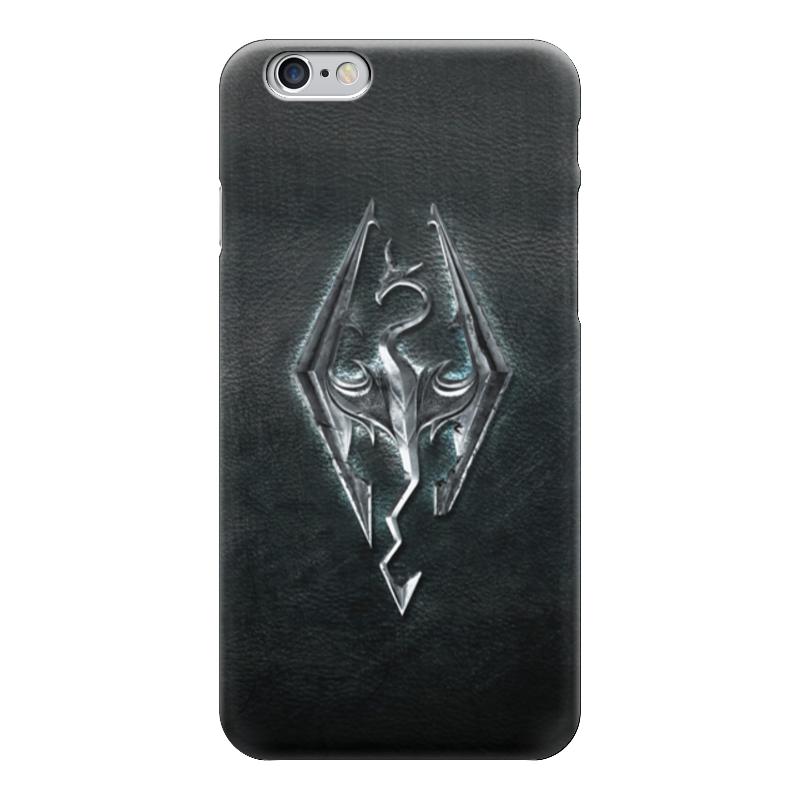 Чехол для iPhone 6 глянцевый Printio Skyrim (скайрим) купить skyrim hearthfire русская озвучка