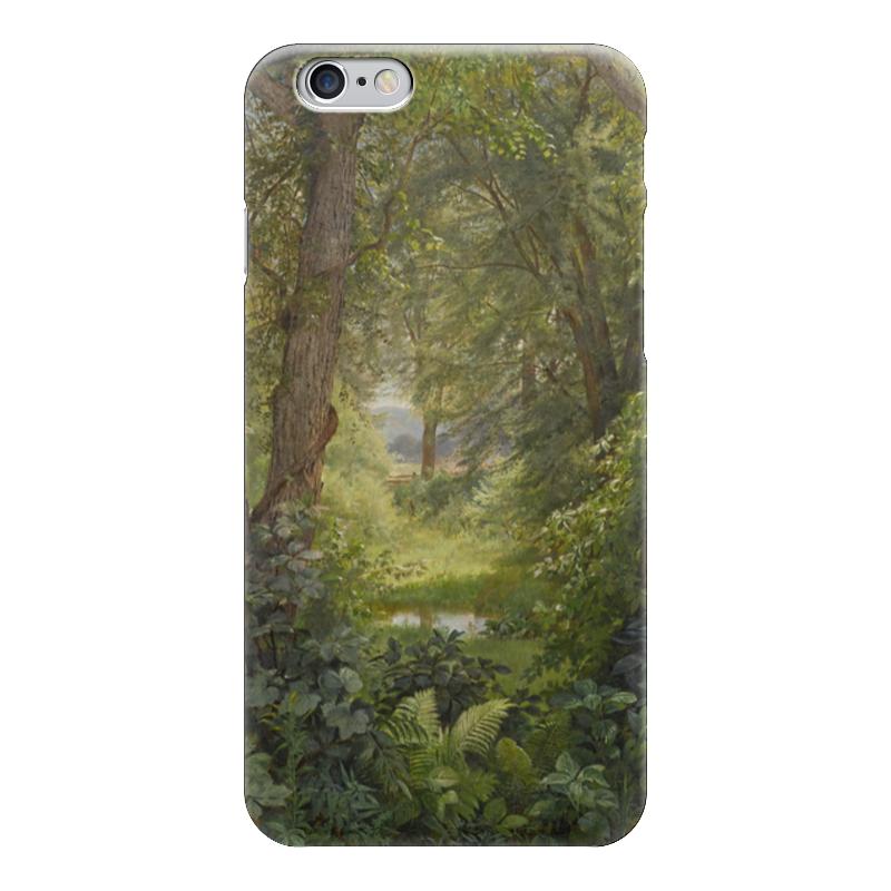 Чехол для iPhone 6 глянцевый Printio Лесной пейзаж (уильям трост ричардс ) футболка для беременных printio кит ричардс