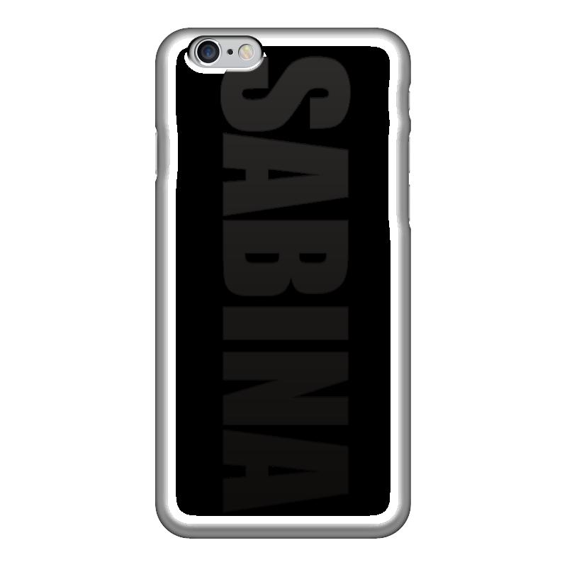 Чехол для iPhone 6 глянцевый Printio С именем сабина экран для ванны triton сабина