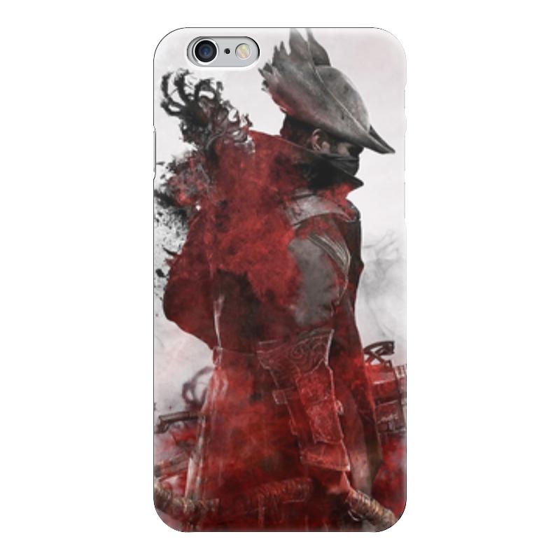 Чехол для iPhone 6 глянцевый Printio Охотник (bloodborne)
