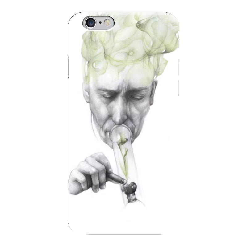 все цены на Чехол для iPhone 6 глянцевый Printio Green smoke онлайн