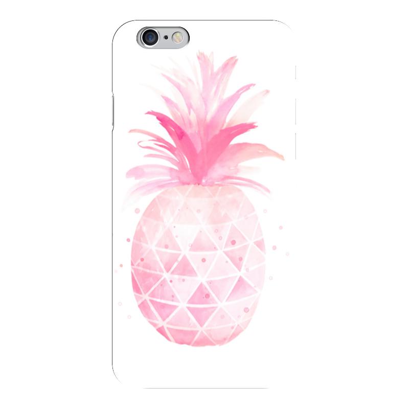 Чехол для iPhone 6 глянцевый Printio Pink pineapple стоимость