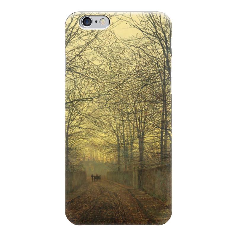 Чехол для iPhone 6 глянцевый Printio Золотой октябрь (джон эткинсон гримшоу)