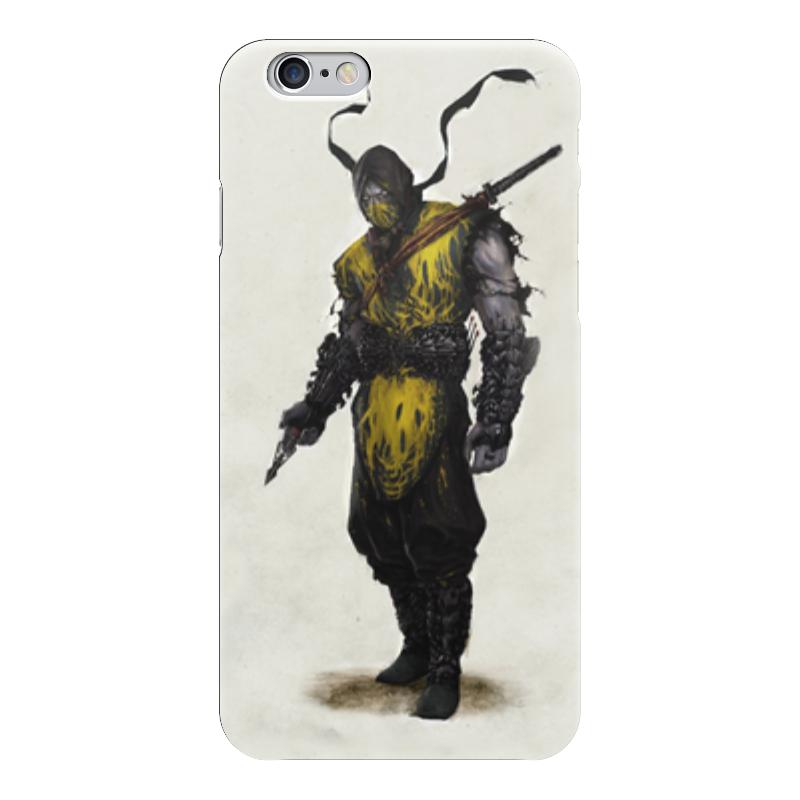 Чехол для iPhone 6 глянцевый Printio Mortal kombat x