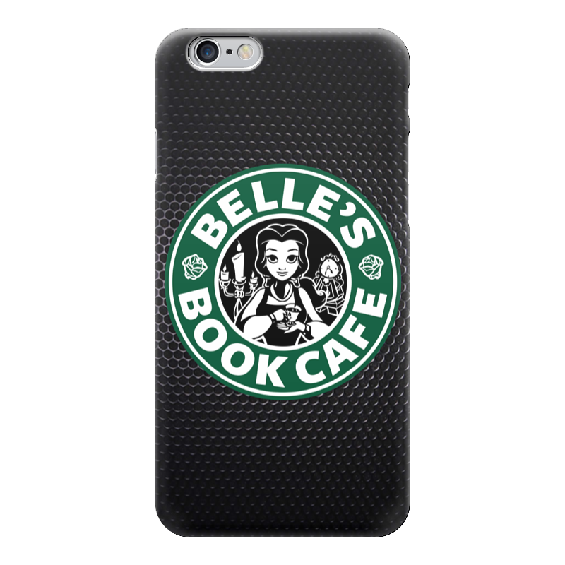Чехол для iPhone 6 глянцевый Printio Belles book cafe (starbucks) спящая красавица