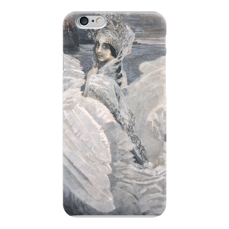 Чехол для iPhone 6 глянцевый Printio Царевна-лебедь (картина врубеля) чехол для iphone 6 глянцевый printio спящая красавица сказка