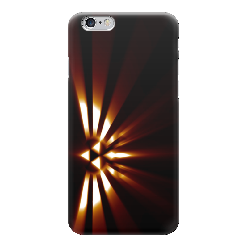 Чехол для iPhone 6 глянцевый Printio Птица счастья