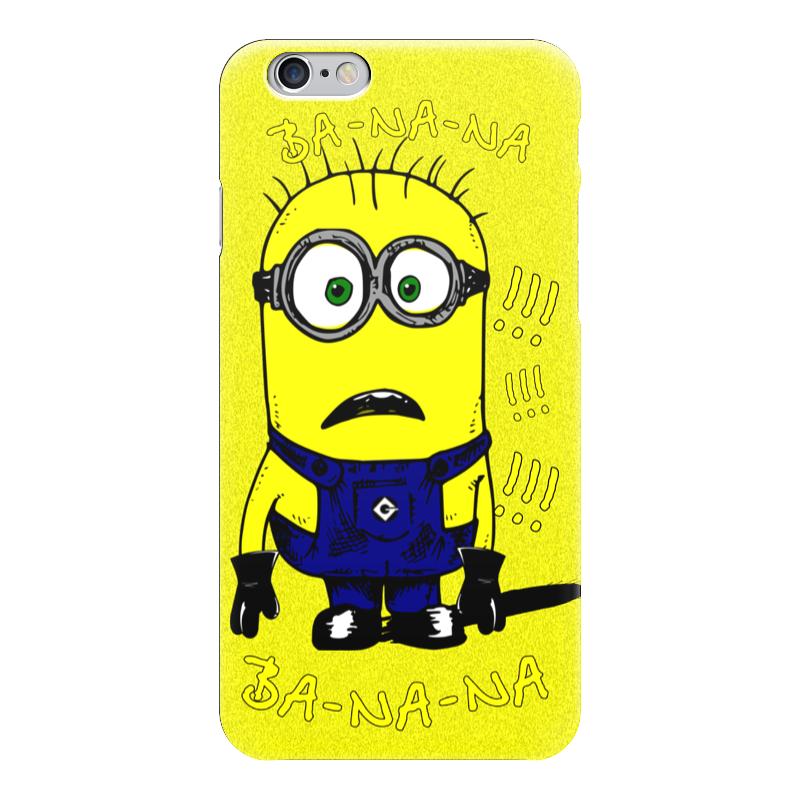 Чехол для iPhone 6 глянцевый Printio Миньон!!! петр кимович петров интеллектуальные пилюли