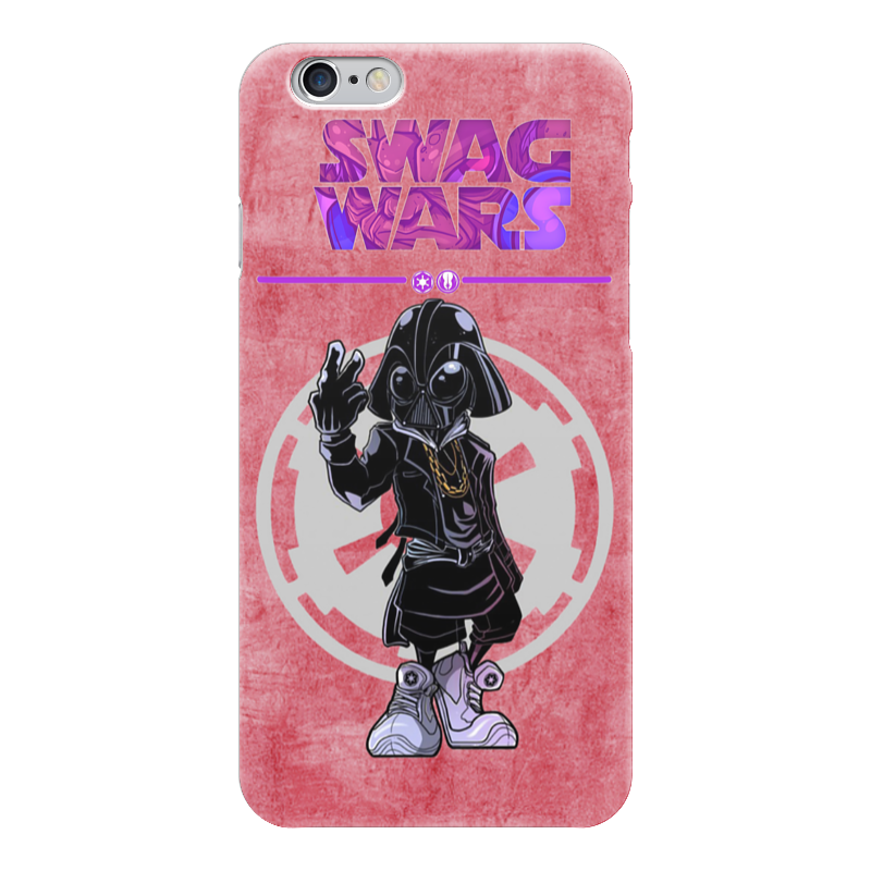 Чехол для iPhone 6 глянцевый Printio Swag wars - star wars star wars жидкое мыло star wars 300 мл