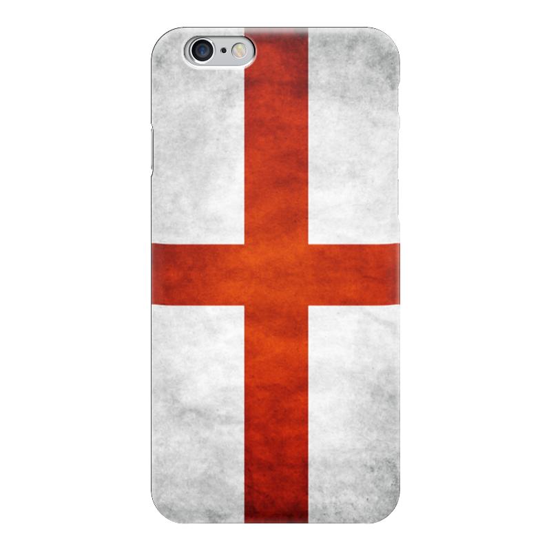 Чехол для iPhone 6 глянцевый Printio Флаг англии rubies мини шляпка флаг англии