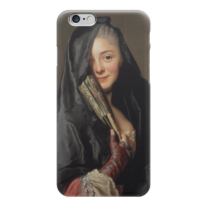 Чехол для iPhone 6 глянцевый Printio Дама под вуалью (картина рослина) картины pavone картина дама картина