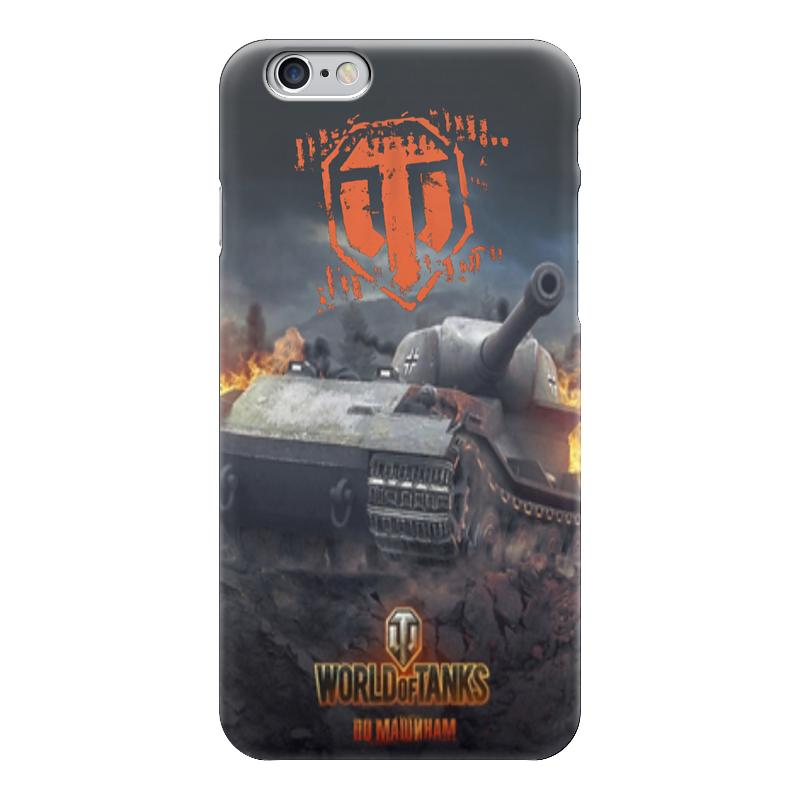 Чехол для iPhone 6 глянцевый Printio World of tanks чехол для iphone 6 глянцевый printio world of warcraft
