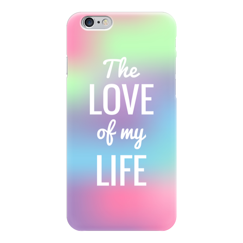Чехол для iPhone 6 глянцевый Printio The love of my life чехол для iphone 6 глянцевый printio knights of the frozen throne
