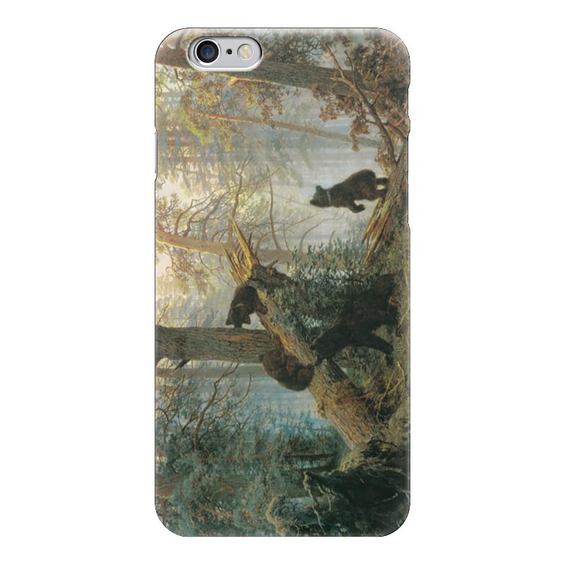 Чехол для iPhone 6 глянцевый Printio Утро в сосновом лесу (иван шишкин) иван комлев ковыль