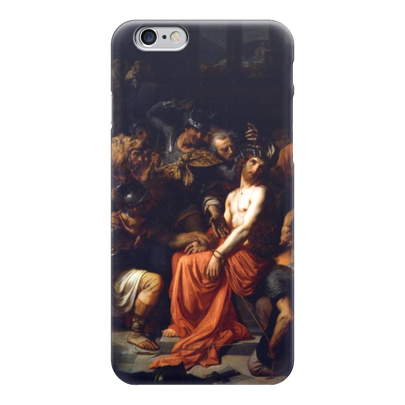 Чехол для iPhone 6 глянцевый Printio Поругание христа (картина кабанеля) чехол для iphone 6 глянцевый printio дама в голубом картина сомова