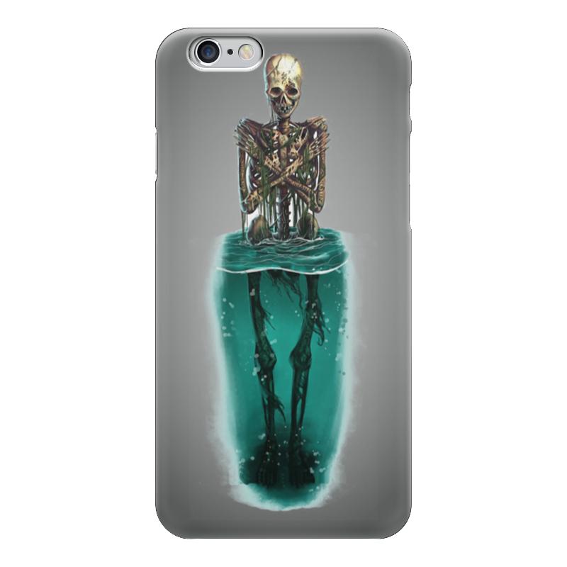 Чехол для iPhone 6 глянцевый Printio Skeleton art чехол для iphone 7 глянцевый printio horror art