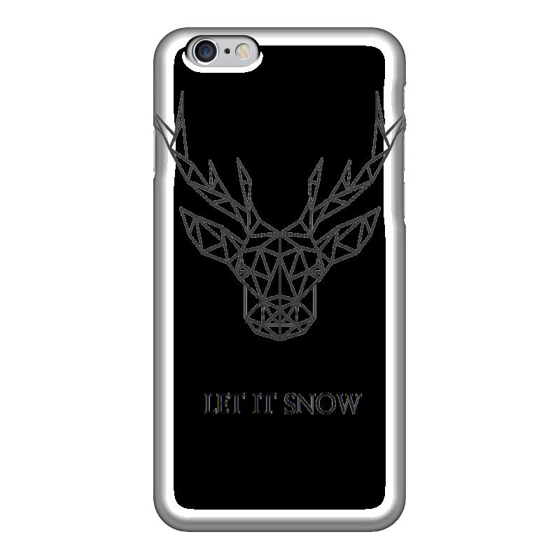 Чехол для iPhone 6 глянцевый Printio Dear deer чехол для iphone 6 глянцевый printio babe it s cold outside