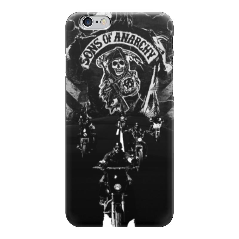 Чехол для iPhone 6 глянцевый Printio Сыны анархии (sons of anarchy) голден к сыны анархии братва