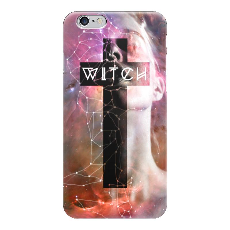 Чехол для iPhone 6 глянцевый Printio Ведьма witch набор шаров 60мм 9шт пластик в тубе золото