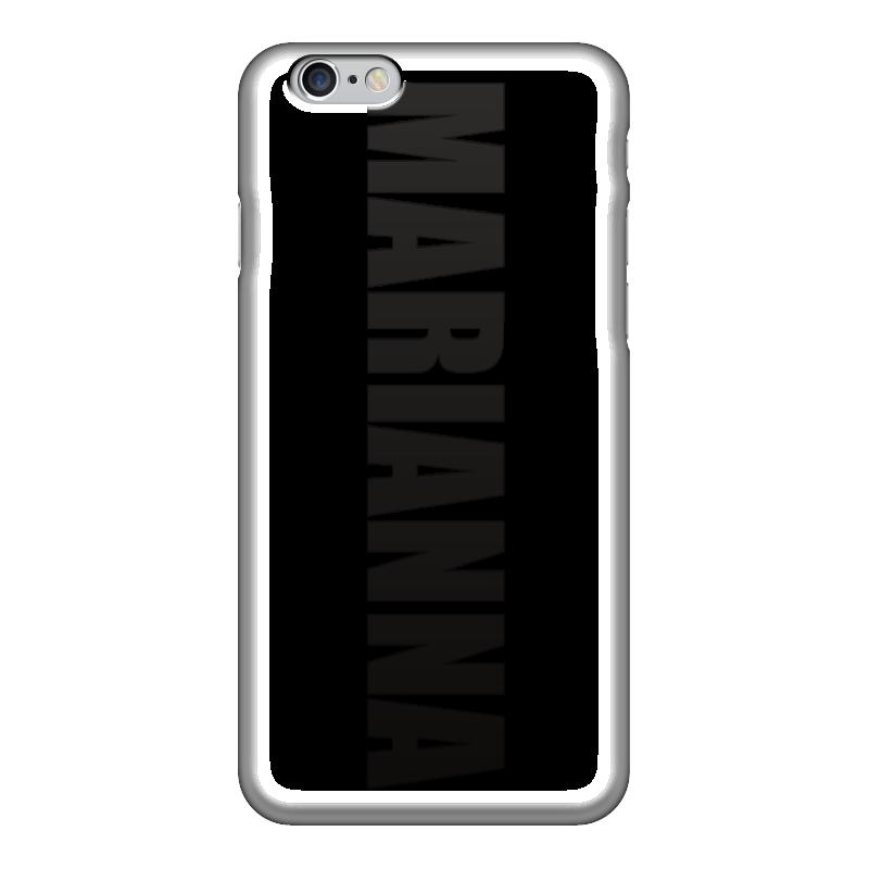 Чехол для iPhone 6 глянцевый Printio С именем марианна чехол