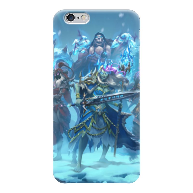 Чехол для iPhone 6 глянцевый Printio Knights of the frozen throne чехол для iphone 6 глянцевый printio knights of the frozen throne