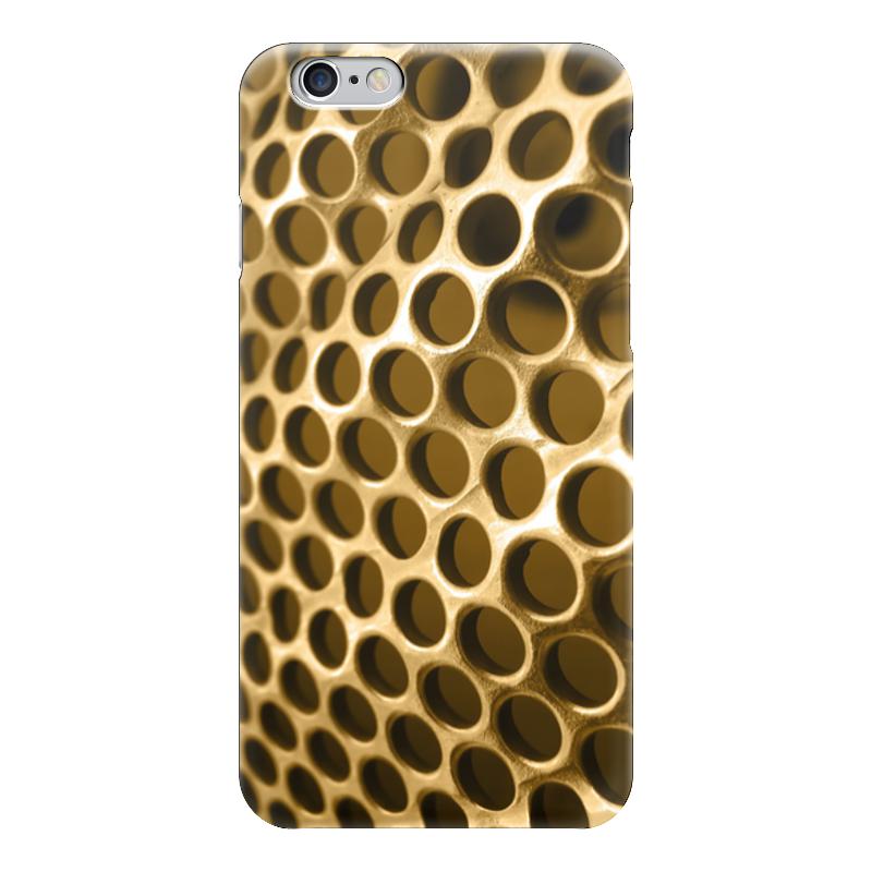 Чехол для iPhone 6 глянцевый Printio Золотая сетка затеняющая сетка для теплиц в краснодаре