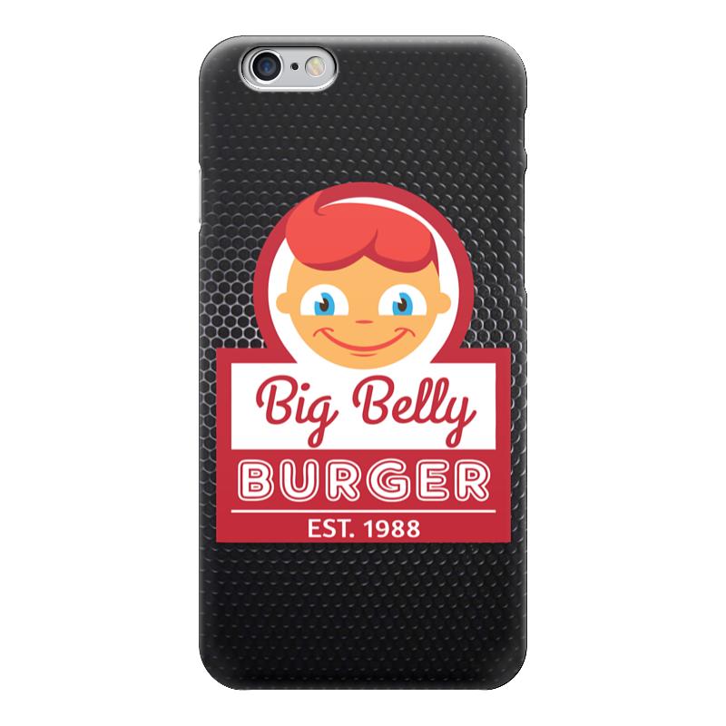 Чехол для iPhone 6 глянцевый Printio Big belly burger куплю ларек для фаст футов