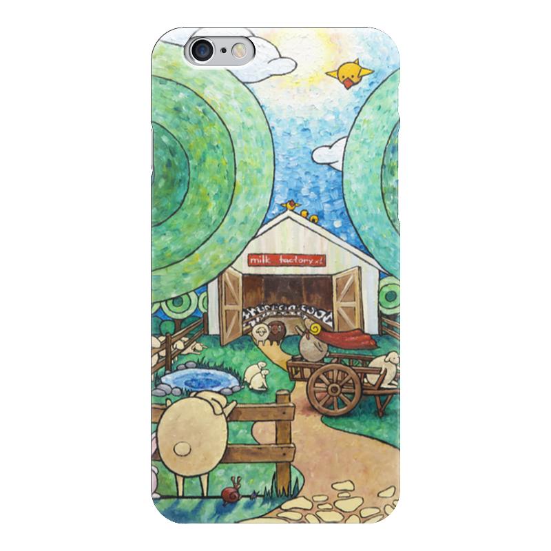 Чехол для iPhone 6 глянцевый Printio Lollypups #16 (milk factory)