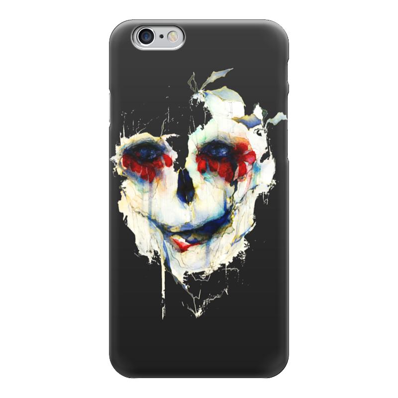 Чехол для iPhone 6 глянцевый Printio Череп (skull) чехол для iphone 7 глянцевый printio skull art
