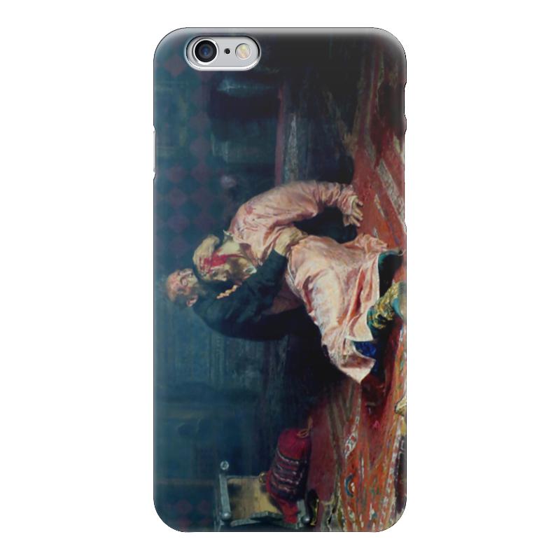 Чехол для iPhone 6 глянцевый Printio Иван грозный убивает своего сына (илья репин) иван комлев ковыль