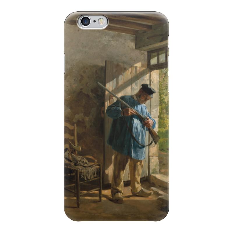 Чехол для iPhone 6 глянцевый Printio Перед охотой (юрий шубиц) апартаменты в словении копер