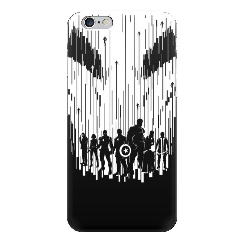 Чехол для iPhone 6 глянцевый Printio Мстители (avengers) чехол для iphone 6 глянцевый printio мстители