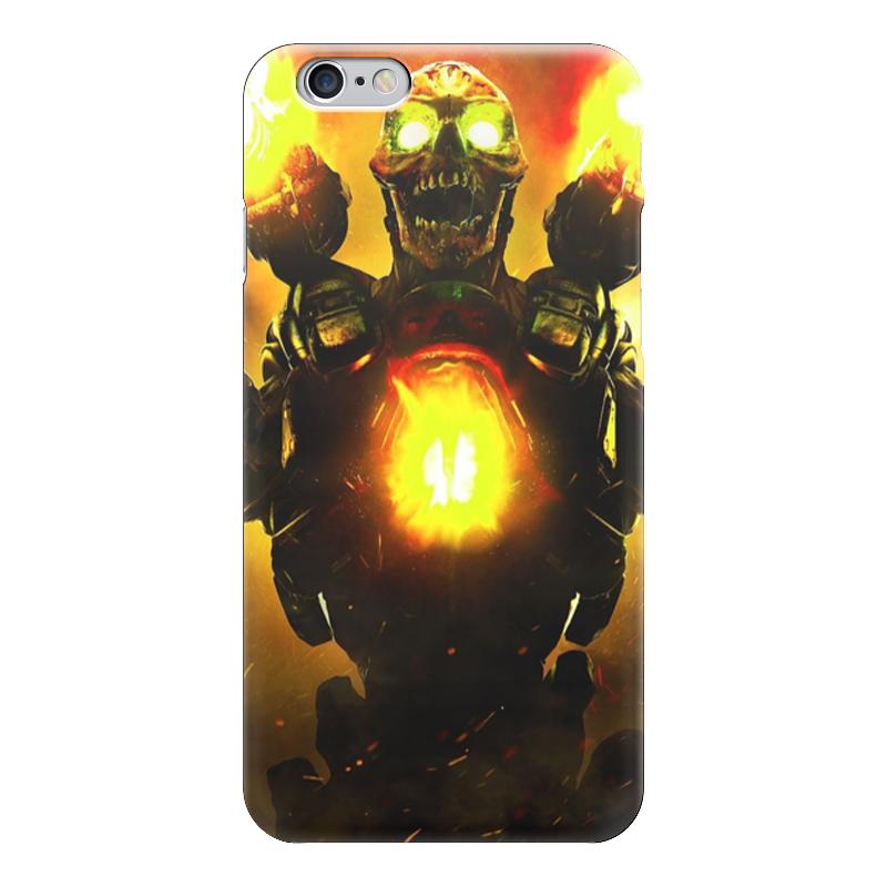 Чехол для iPhone 6 глянцевый Printio Doom 4 чехол