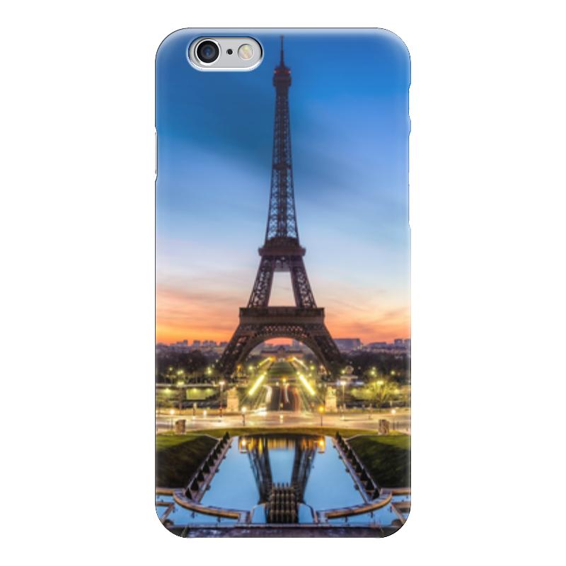 Чехол для iPhone 6 глянцевый Printio Парижский вечер вокальный вечер