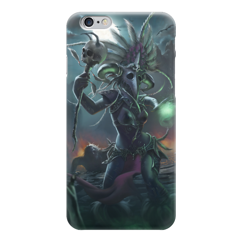 Чехол для iPhone 6 глянцевый Printio Witch doctor witch