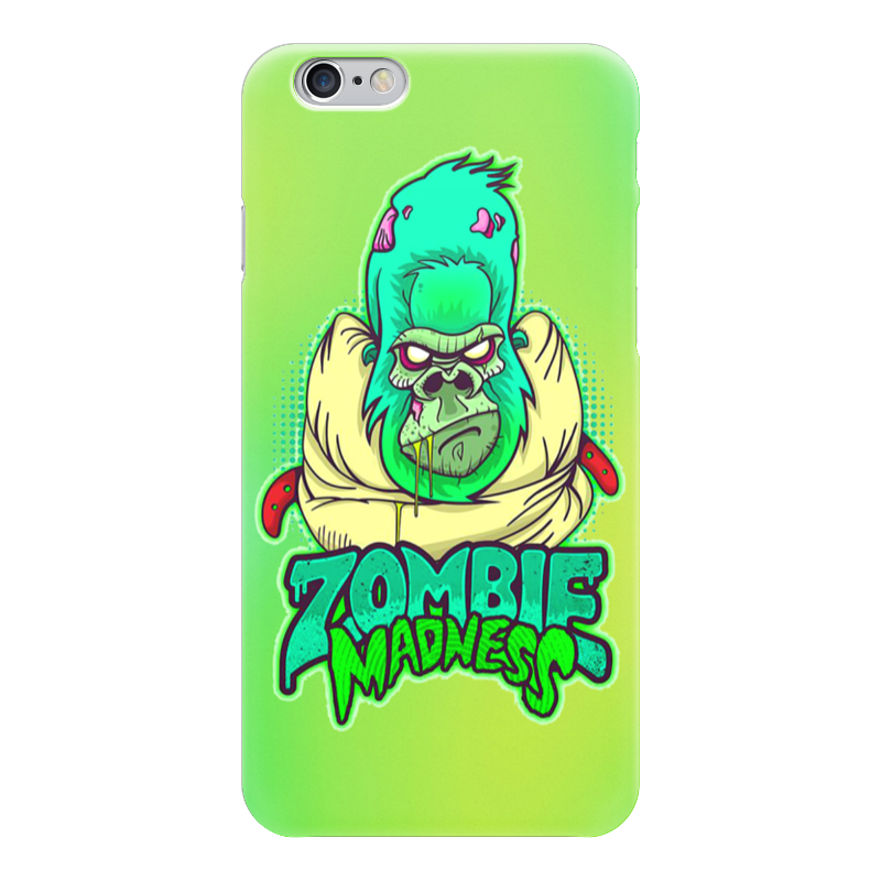 Чехол для iPhone 6 глянцевый Printio Zombie madness