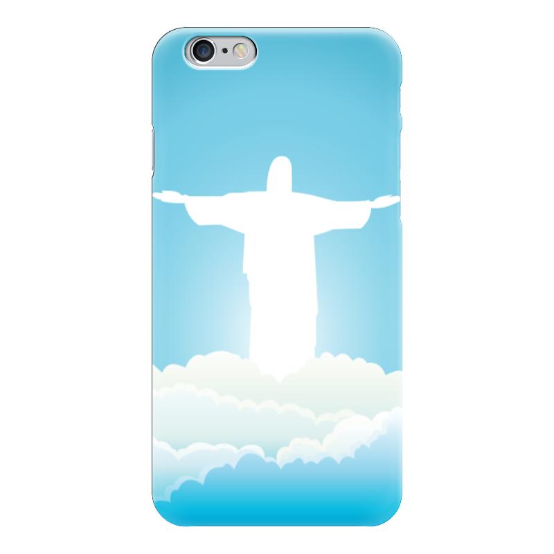 Чехол для iPhone 6 глянцевый Printio Иисус христос вышивка бисером молящийся христос