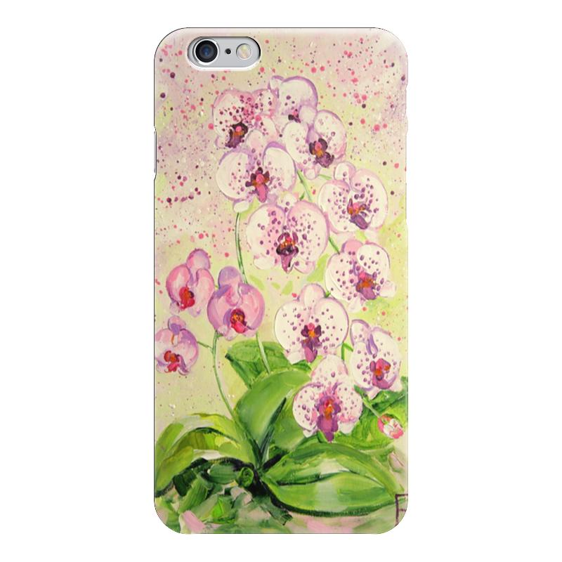 Чехол для iPhone 6 глянцевый Printio Орхидея чехол для iphone 6 глянцевый printio сад на улице корто сад на монмартре ренуар