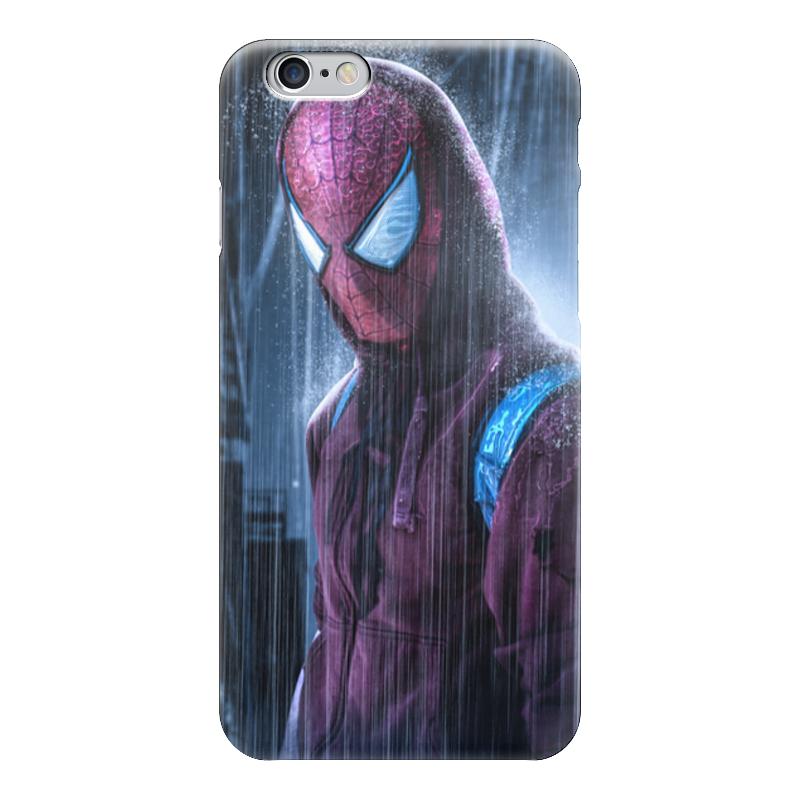 Чехол для iPhone 6 глянцевый Printio Человек-паук (spider-man) чехол для iphone 6 глянцевый printio человек муравей ant man