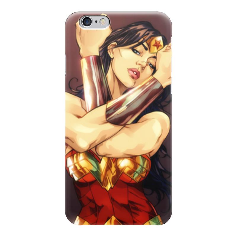 Чехол для iPhone 6 глянцевый Printio Чудо-женщина чехол для iphone 6 глянцевый printio чудо женщина wonder woman