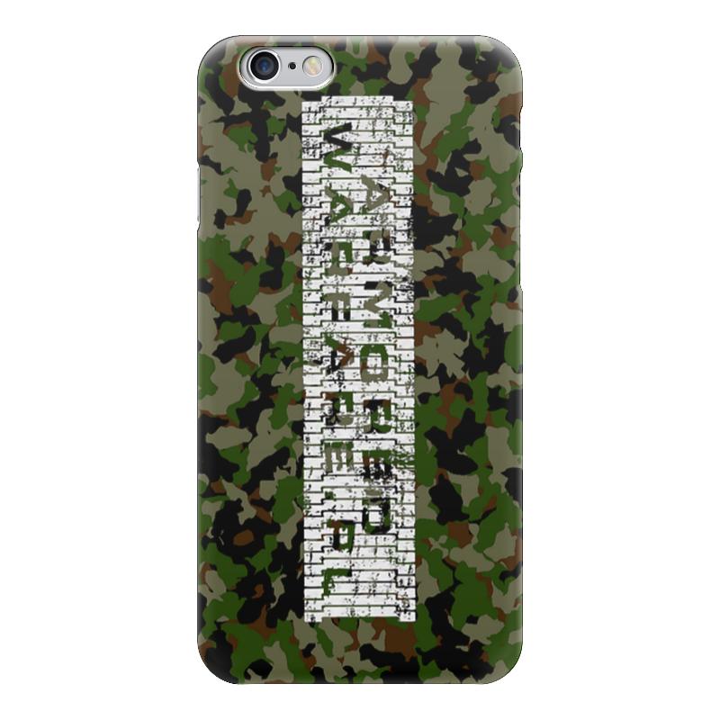 Чехол для iPhone 6 глянцевый Printio Armored warfare