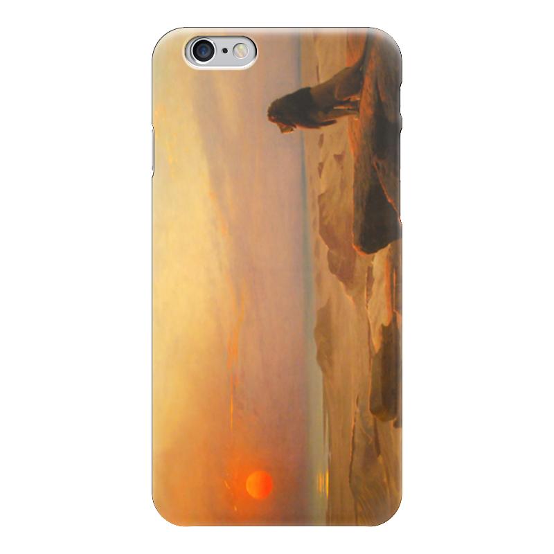 Чехол для iPhone 6 глянцевый Printio Два величества (жан-леон жером) фаворит ее величества дорога к свободе