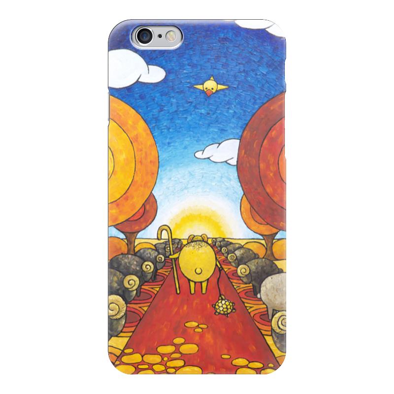 Чехол для iPhone 6 глянцевый Printio Lollypups #21 (life on mars) чехол для iphone 6 глянцевый printio lollypups 17 the dreamer